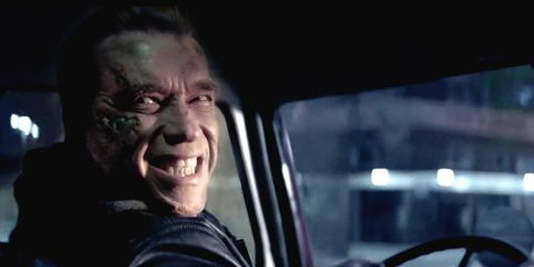 Terminator Genisys - Arnold Schwarzenegger Smile
