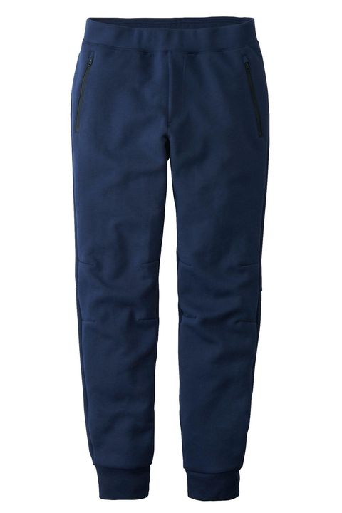 "Uniqlo's dry material wicks moisture and gives this pair of joggers a futuristic finish.   <em>Dry stretch sweatpants ($34.90) by Uniqlo, <a target=""_blank"" href=""http://www.uniqlo.com/us/product/men-dry-stretch-sweatpants-138643.html#69~/men/bottoms/sweat-pants/sweat-pants/~"">uniqlo.com</a></em>"