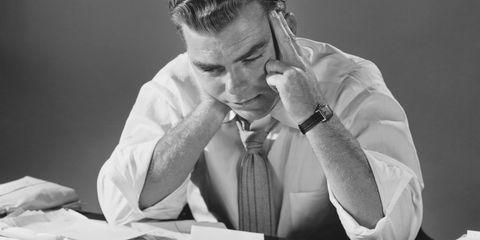 Sitting, Table, Dress shirt, Employment, Job, White-collar worker, Office supplies, Writing implement, Desk, Tie,