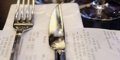 Tip at a Restaurant