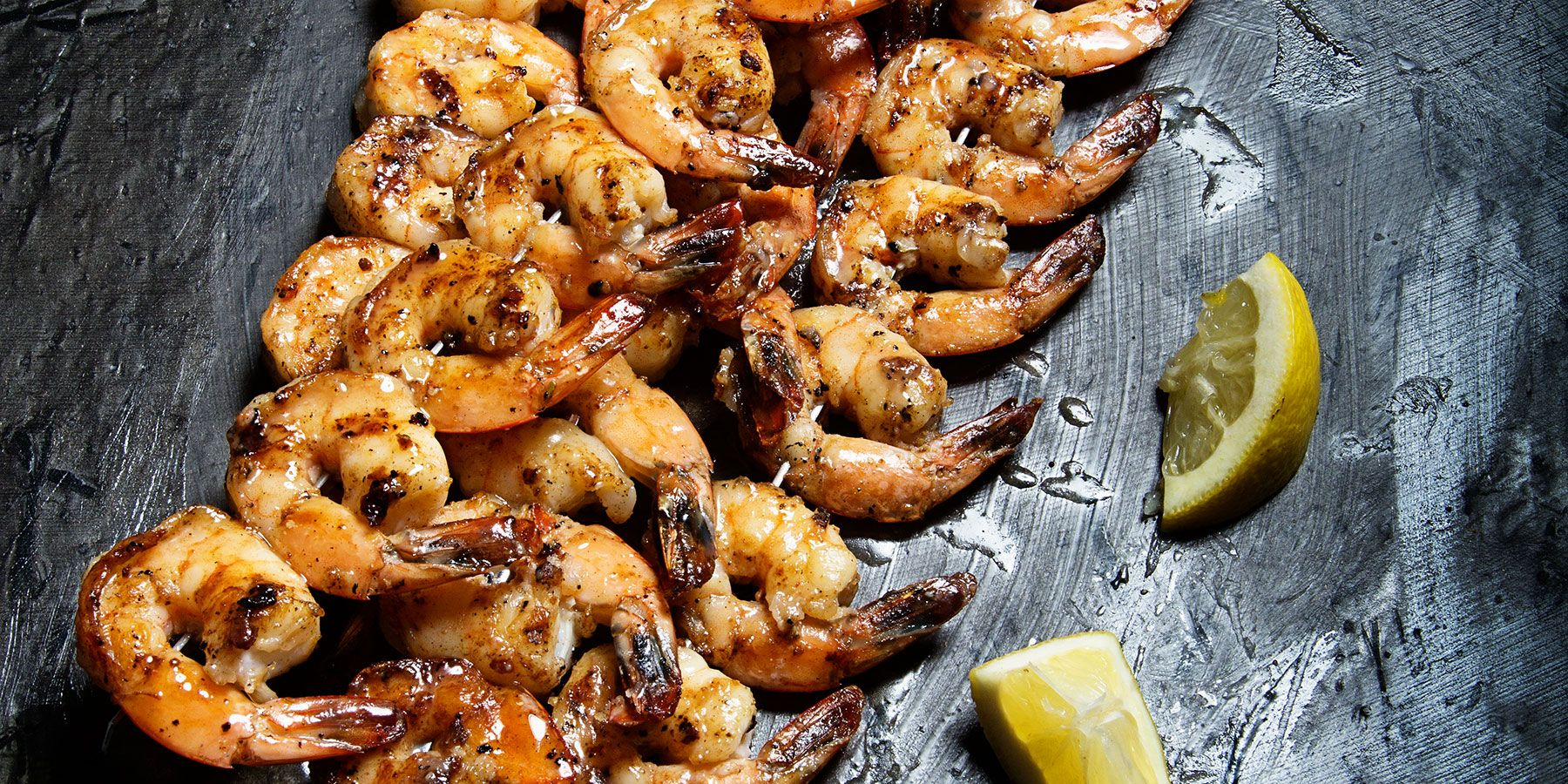 Grilled Shrimp with Maker's Mark Butter Sauce