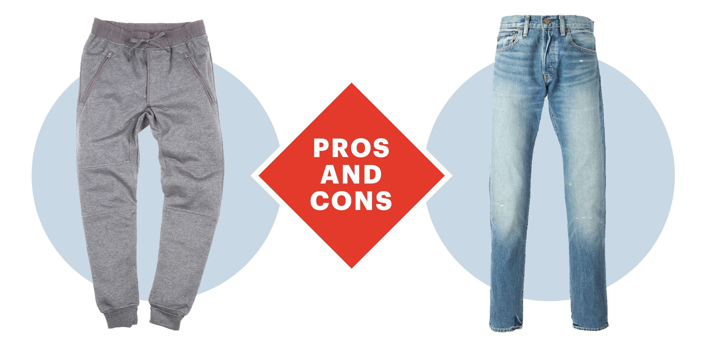 406de5f66c2 Sweatpants vs. Jeans - Are Sweatpants the Next Big Thing in Men s ...