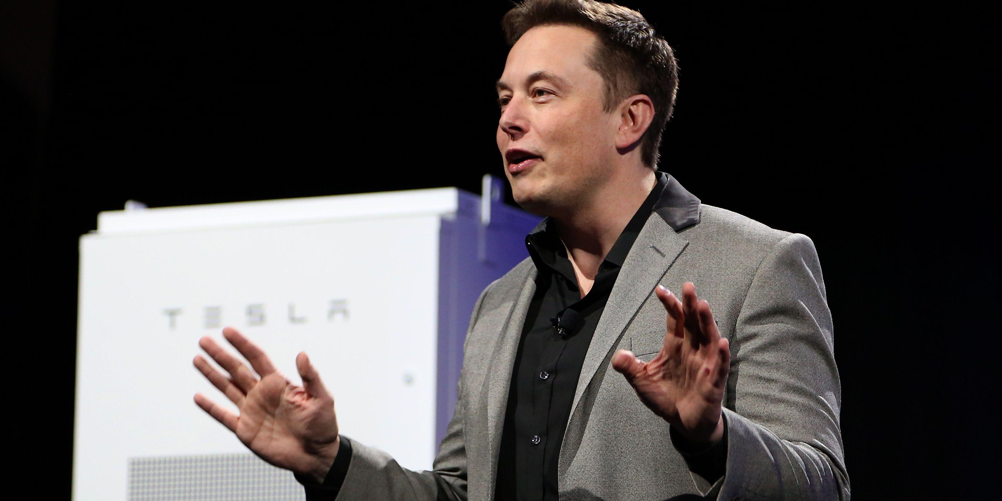 Elon Musk Powerwall Battery