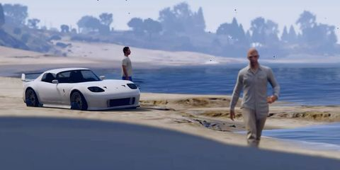 Fan Recreates Furious 7's Paul Walker Tribute Using Grand Theft Auto Because… Cars?