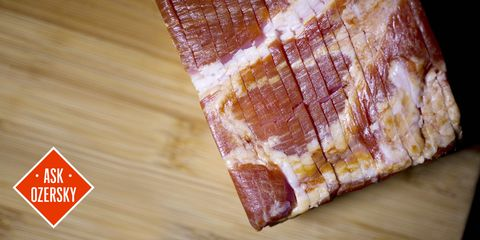 Ask Eat Like a Man: The Bacon Test