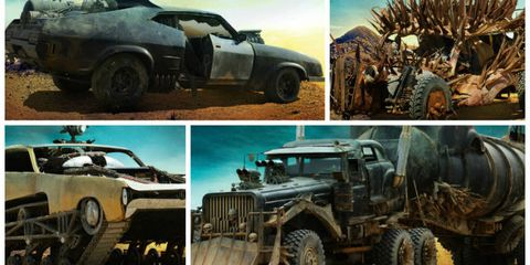 A First Look at Mad Max: Fury Road's Killer Vehicles