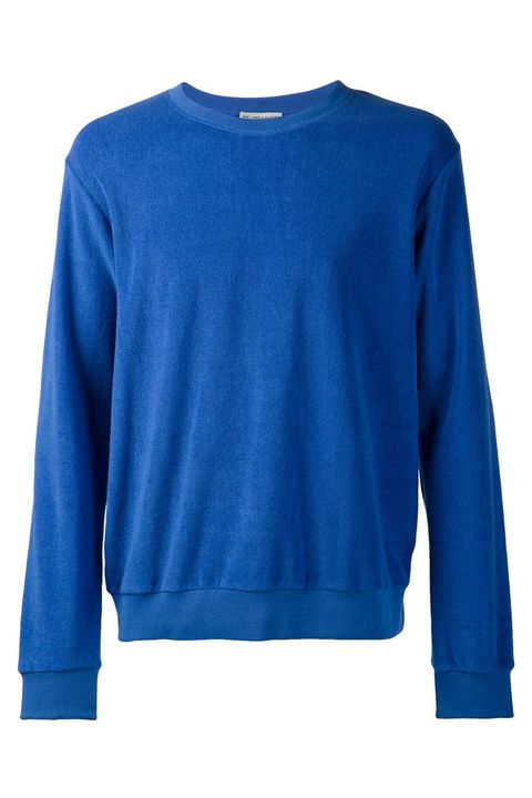 Blue, Product, Sleeve, Textile, Outerwear, White, Electric blue, Collar, Aqua, Fashion,
