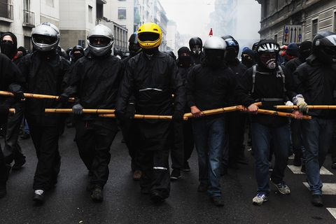 If You're Going to Riot, Maybe Leave the Rolex at Home