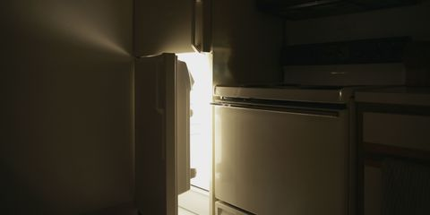 Property, Darkness, Gas, Kitchen appliance, Plywood, Cabinetry, Major appliance,