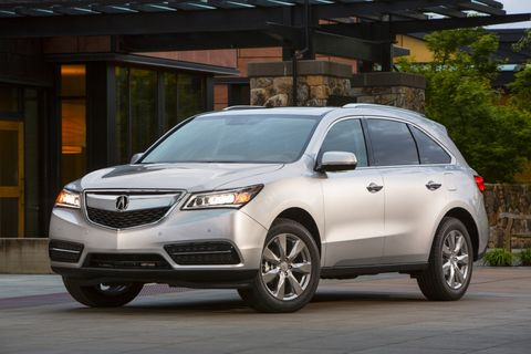 """<strong>MSRP</strong>: $42,865  Consumer Reports describes the MDX as """"functional, family-friendly, and competitively priced."""""""