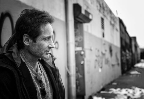 David Duchovny Interview - David Duchovny on Album, X-Files
