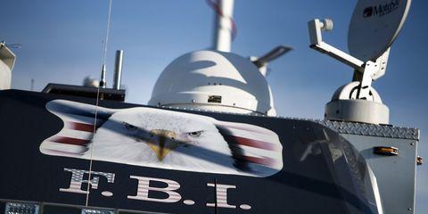 FBI Command Vehicle