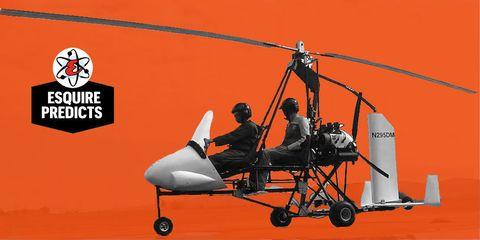 Deszo Molnar Gyrocopter