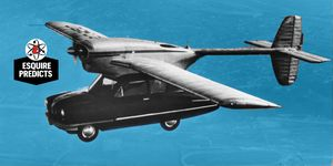 history of flying cars