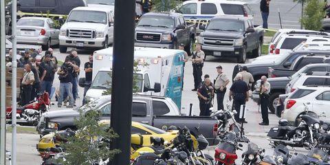 Texas Biker Gang Shootout