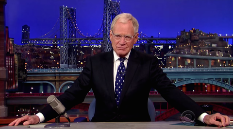'Thank You and Good Night': Letterman Exits with Grace