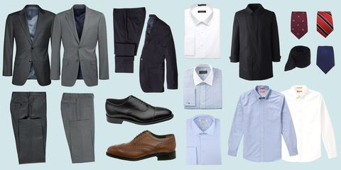 The Only 15 Things You Need to Build a Working Wardrobe