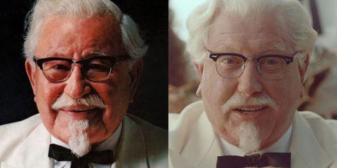 Colonel Sanders Collage