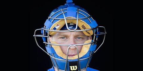 LA Dodgers Catcher A.J. Ellis