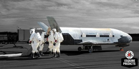 US Air Force X-37B Secret Space Plane