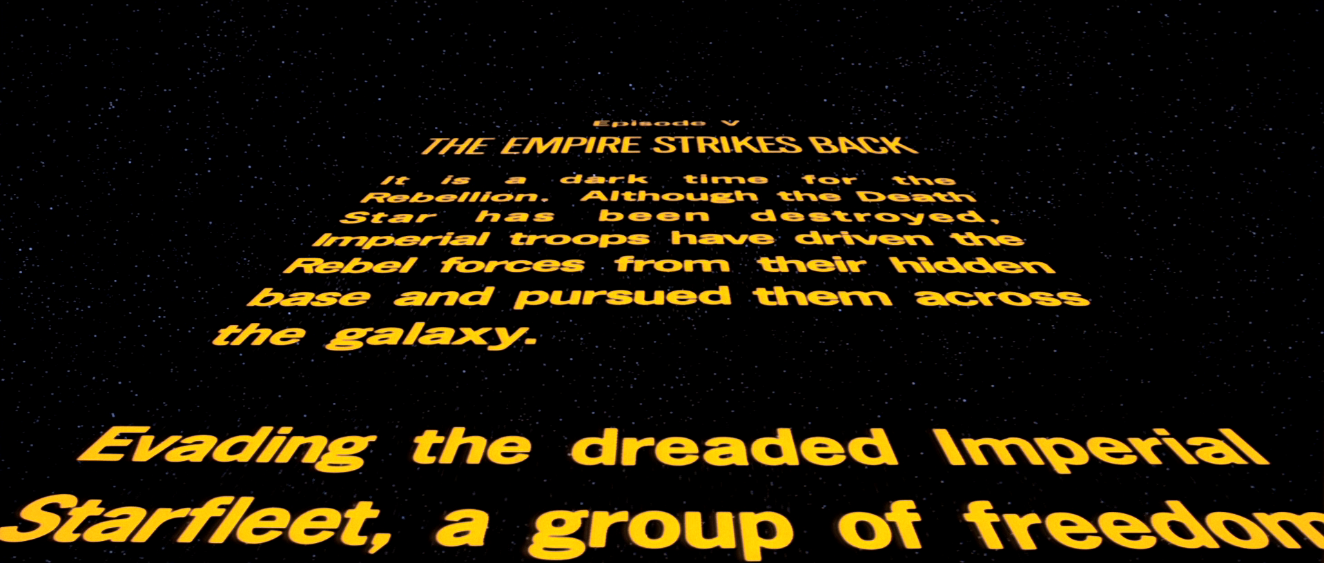 Star Wars Title Crawls Esquire S Definitive Ranking Of The Movie Series Opening Credits Sequences