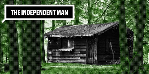 Independent Man Outdoor Skills How to Build a Lean-to