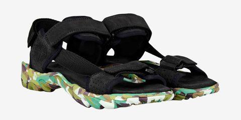 Bag, Slipper, Outdoor shoe, Sandal, Camouflage, Baby & toddler shoe,