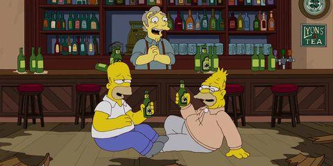 simpsons bar