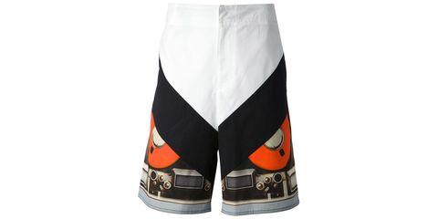 Liquid, Carmine, Logo, Active shorts, Emblem, Graphics,