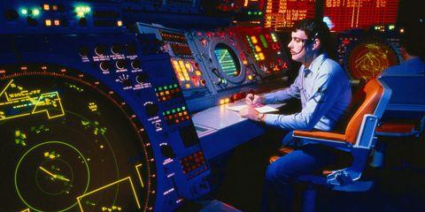 NASA monitor