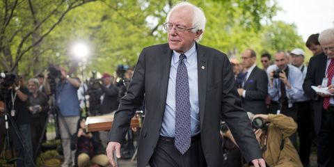 Bernie Sanders April 2015