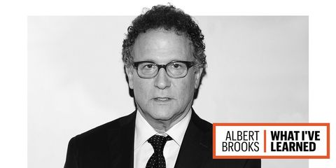 An updated, close-up image of Albert Brooks