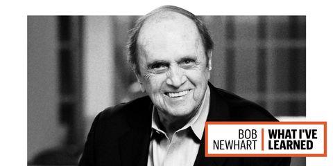 An updated, close-up image of Bob Newhart