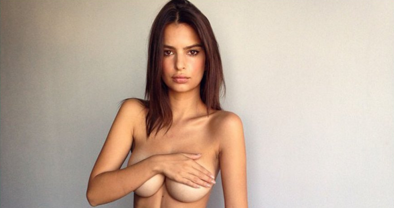 Emily Ratajkowski On People Who Are Offended By Breasts And Female