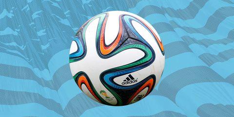 Pattern, Ball, Soccer ball, Colorfulness, Aqua, Turquoise, Teal, Orange, Azure, Art,