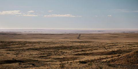 Plain, Plant community, Atmosphere, Horizon, Grassland, Ecoregion, Savanna, Soil, Grass family, Prairie,
