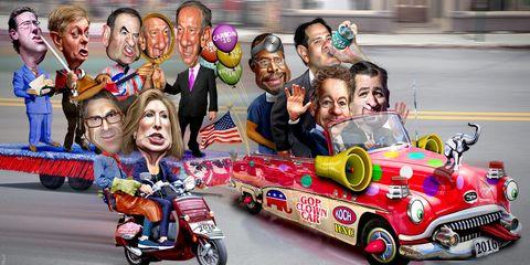 Republican Clown Car