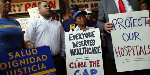 Health Care Protests Florida