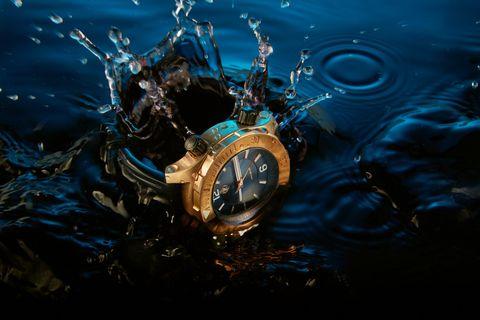Liquid, Fluid, Watch, Clock, Analog watch, Still life photography, Graphic design, Science,