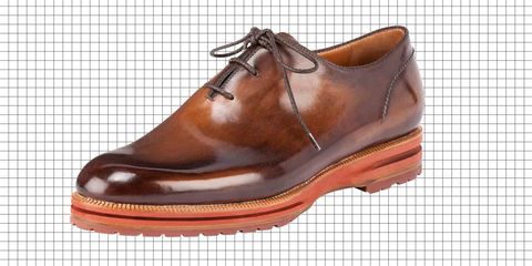 Footwear, Product, Brown, Shoe, Oxford shoe, Orange, Amber, Tan, Leather, Fashion,