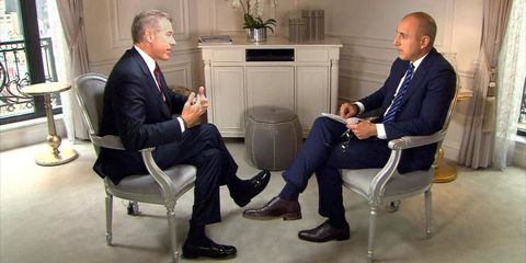 brian williams on today show