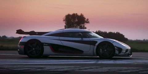 Watch a Koenigsegg One:1 Obliterate the 0-300km/h-0 Record