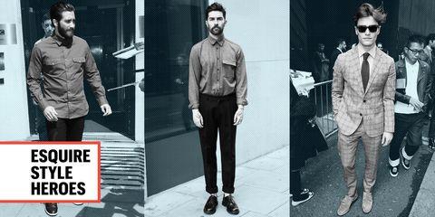 Leg, Dress shirt, Sleeve, Trousers, Collar, Shirt, Standing, Sunglasses, Style, Formal wear,
