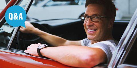 Eyewear, Motor vehicle, Glasses, Arm, Vision care, Finger, Automotive design, Wrist, Hand, Vehicle door,