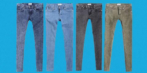 Clothing, Blue, Denim, Jeans, Textile, White, Pocket, Style, Line, Aqua,