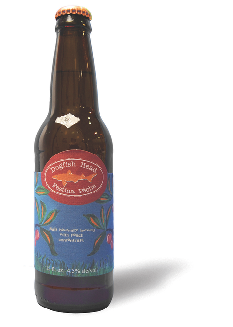 "This is a true <a target=""_blank"" href=""http://www.dogfish.com/brews-spirits/the-brews/seasonal-brews/festina-peche.htm"">Berliner Weisse</a>, a lip-puckering sour beer with green-apple notes and some sweet peach flavor."