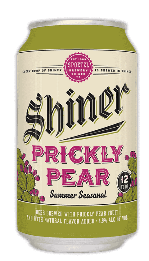 "Brewed with prickly pear, a cactus native to Texas, this <a target=""_blank"" href=""http://www.shiner.com/beer/prickly-pear"">summer ale</a> is a little citrusy and a little tart."