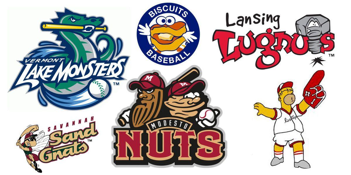 Baseball Teams Names List Best Minor Leag...