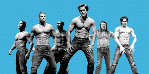 The Lazy Man's Guide to Getting Magic Mike Ripped