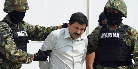 The World's Most Notorious Drug Lord Just Tunneled Out of Prison
